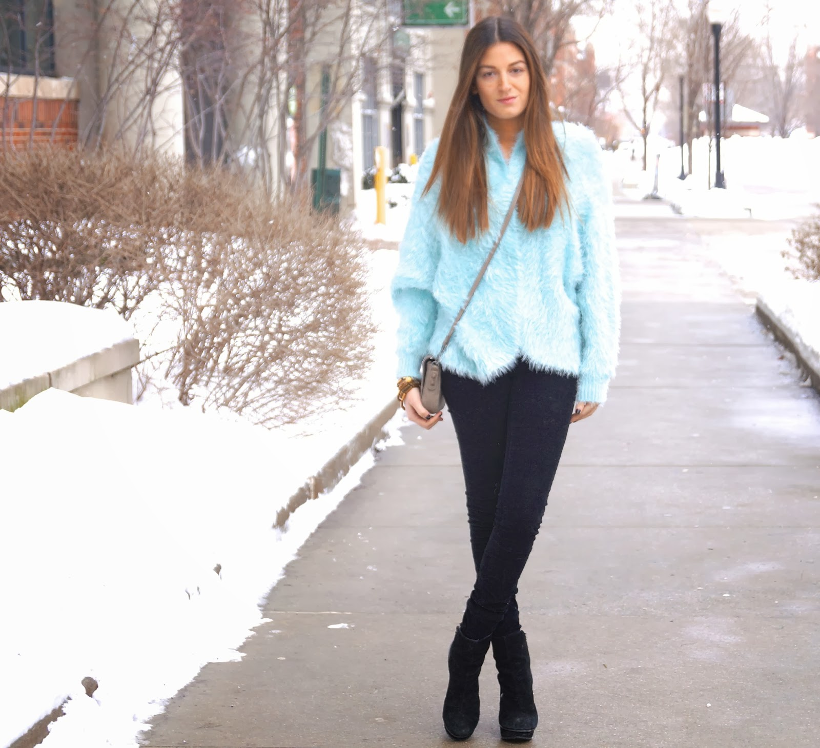 baby blue nordstrom sweater