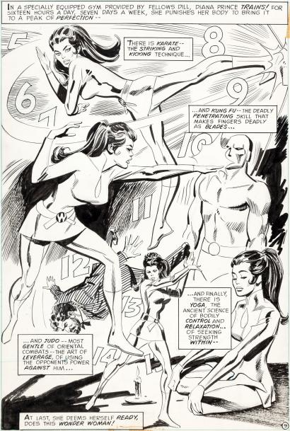 Splash Page: Wonder Woman