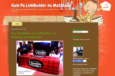 Kain pa LinkBuilder na Matakaw
