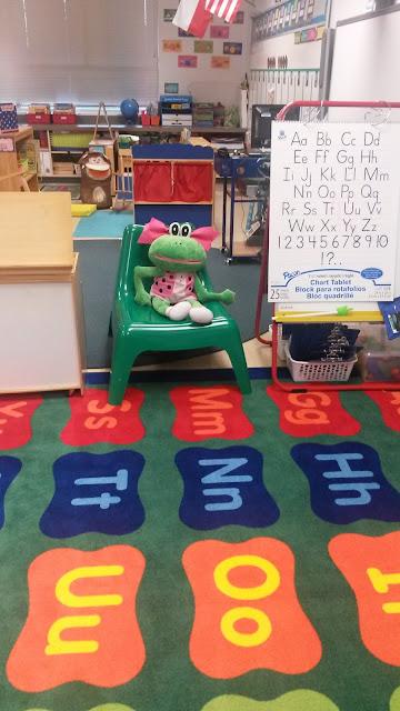 Teach Glitter Grow classroom