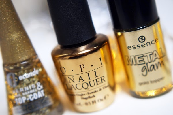 Budget topcoat met bladgoud | Essence & Bourjois, OPI dupes?