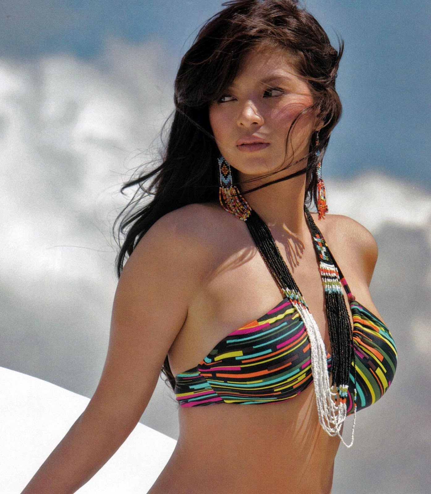 angel locsin sexy fhm bikini photos 01