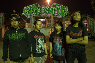Mothersblood Band Brutal death metal bandung foto logo font artwork wallpaper