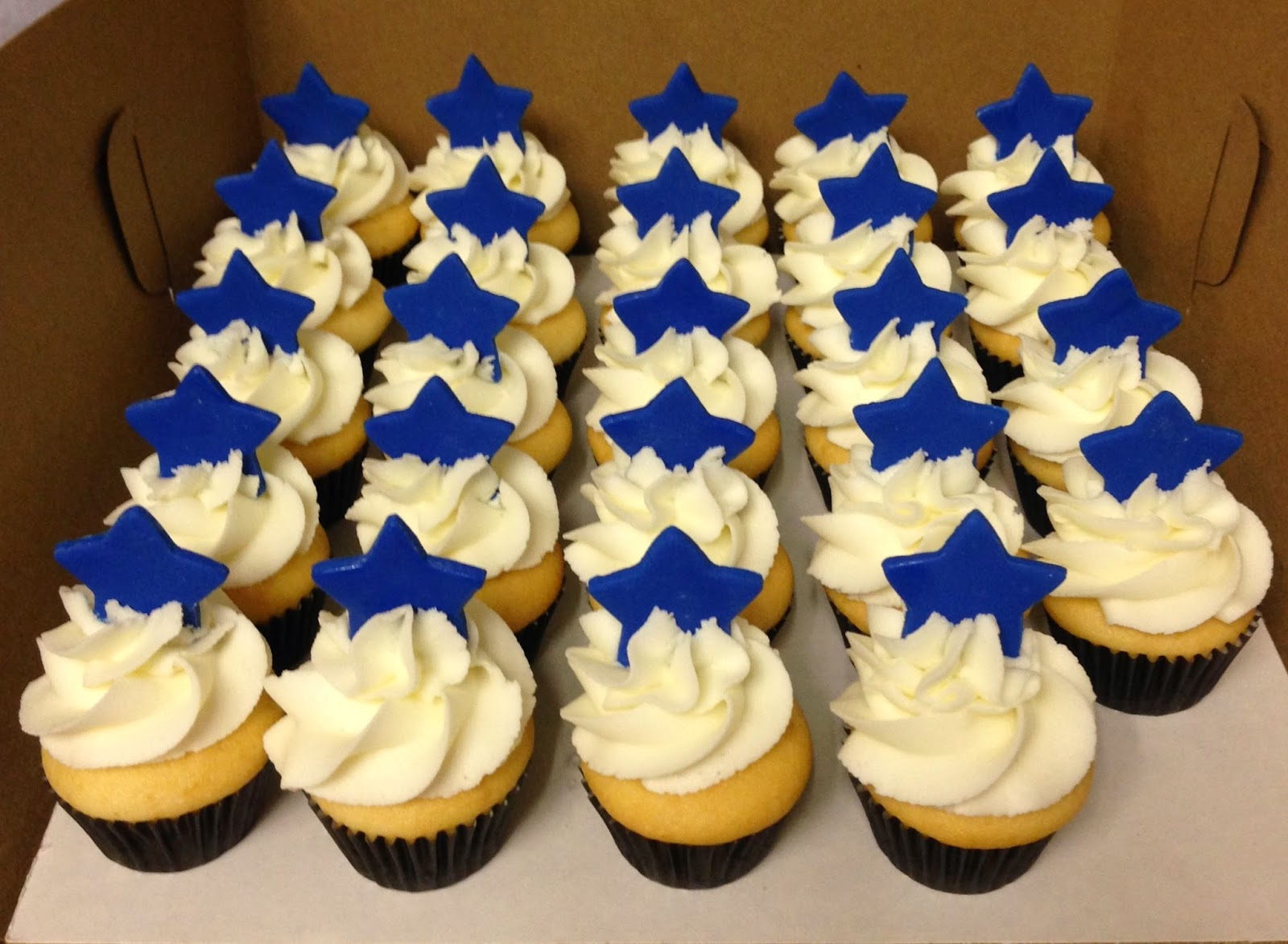Cakes by Mindy: Royal Blue and Black Graduation Cake and Mini ...
