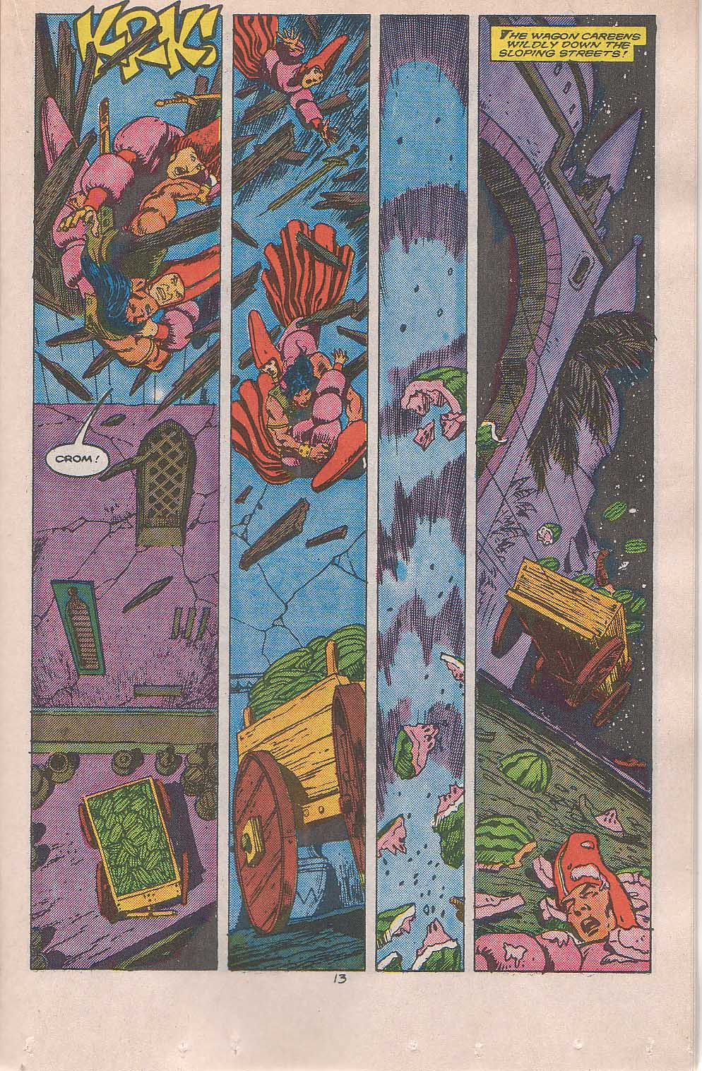 Conan the Barbarian (1970) Issue #216 #228 - English 10