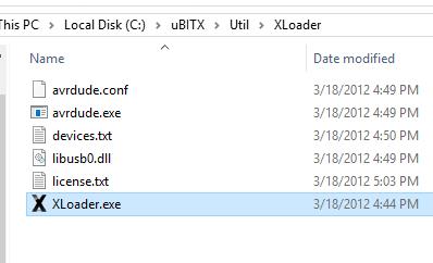 Arduino xloader download