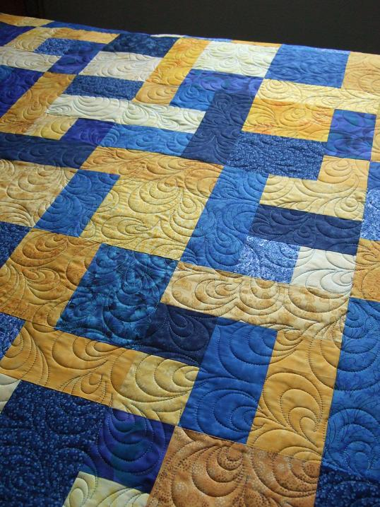 Free Quilt Pattern For Yellow Brick Road : Tamarack Shack: Yellow Brick Road