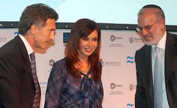 Elsztain Macri y CFK