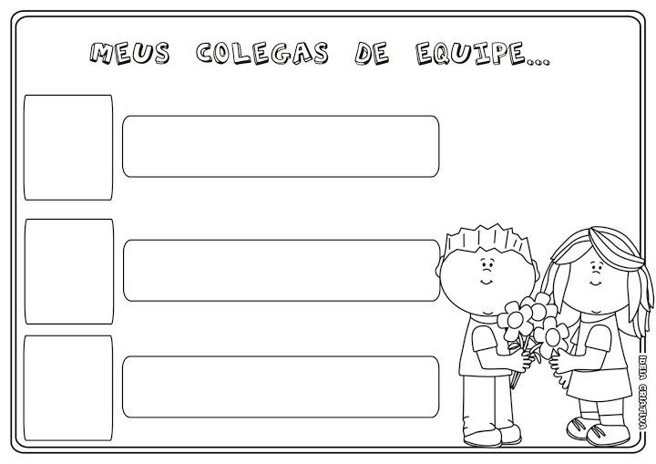 Atividades com escrita do nome para educação infantil