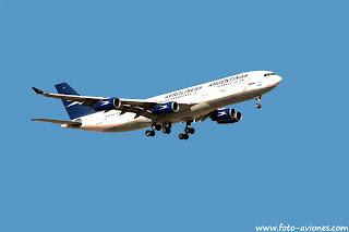 Airbus A340 / LV-ZPJ