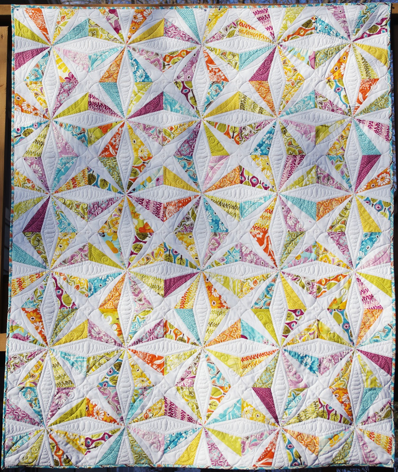 Quilting Designs Free : Ahhh...Quilting: Central Park Kaleidoscope Quilt