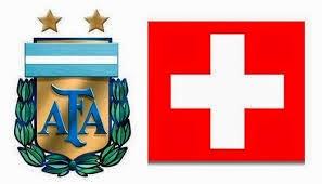 Argentina 1 - 0 Suiza. Argentina se salva por los pelos gracias a Di María