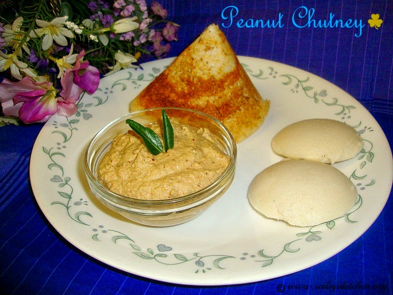 images for Peanut Chutney Recipe /  Verusenaga Pachadi / Palli Pachadi Recipe / Easy Peanut Chutney Recipe