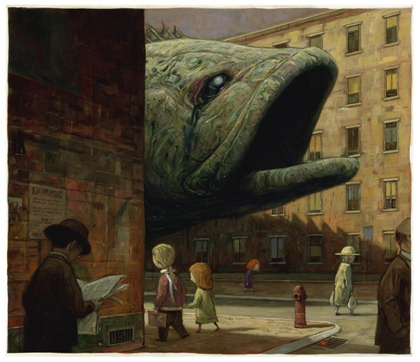 Shaun Tan illustration