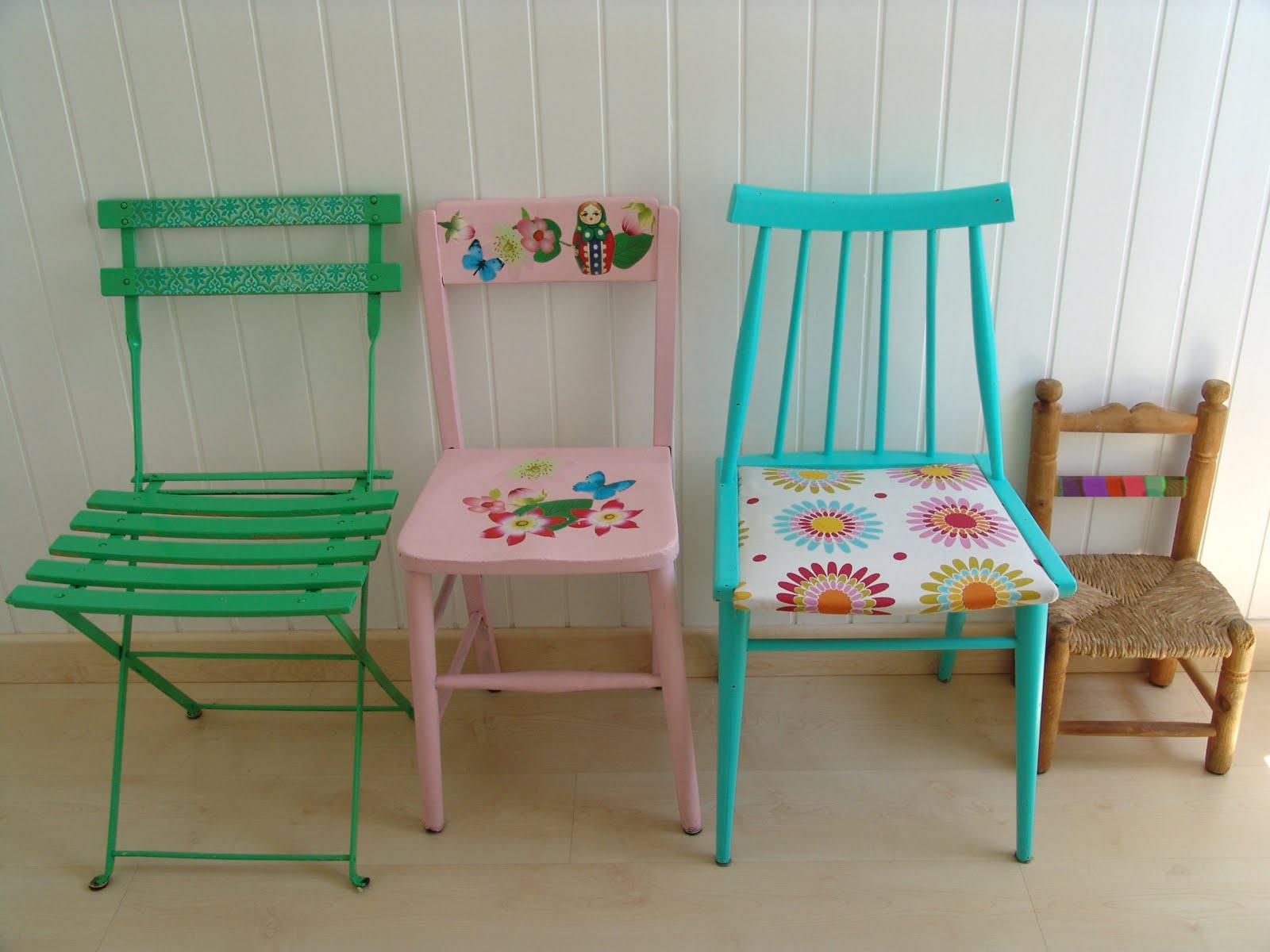 Lalibelula renovando sillas viejas - Sillas para casa ...