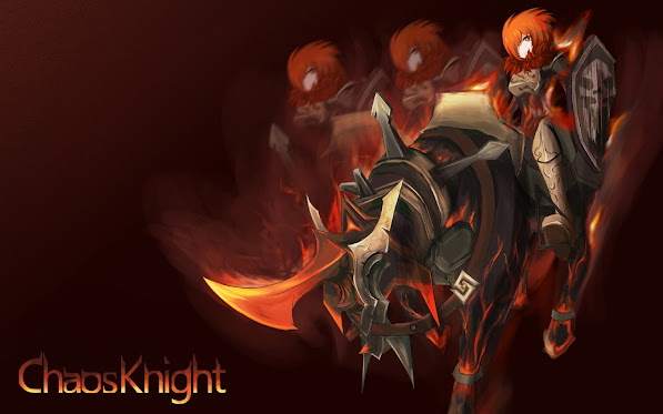 Chaos Knight Girl 8q