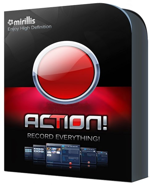 Action desktop and gameplay recording