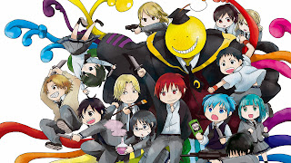 Tapeta z Assassination Classroom, wersja rysowana numer 2