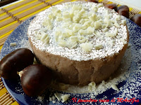 Torta morbida di castagne