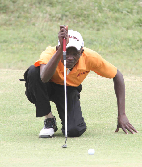 Kenya golf Amateur Joseph Waweru Karanja of Golf Park