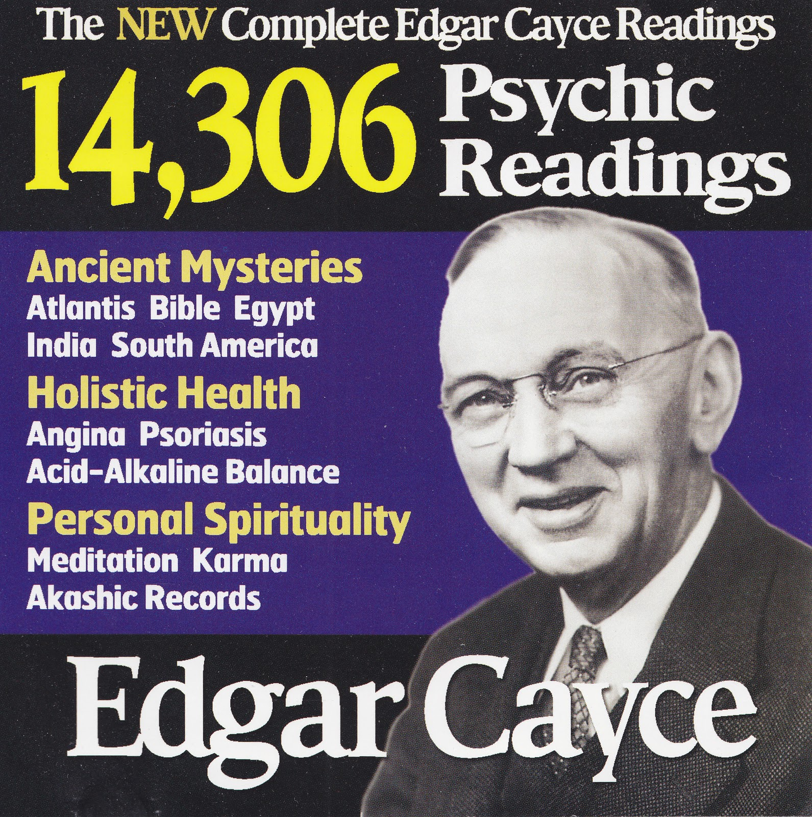 The new complete edgar cayce readings expanded version 2