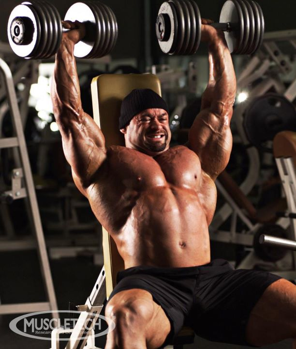 Bodybuilding Shoulder Workout By MuscleTech