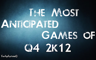 Top 10 anticipated games of the last quarter of 2012