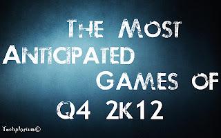 Top 10 anticipated games of the last quarter of 2012