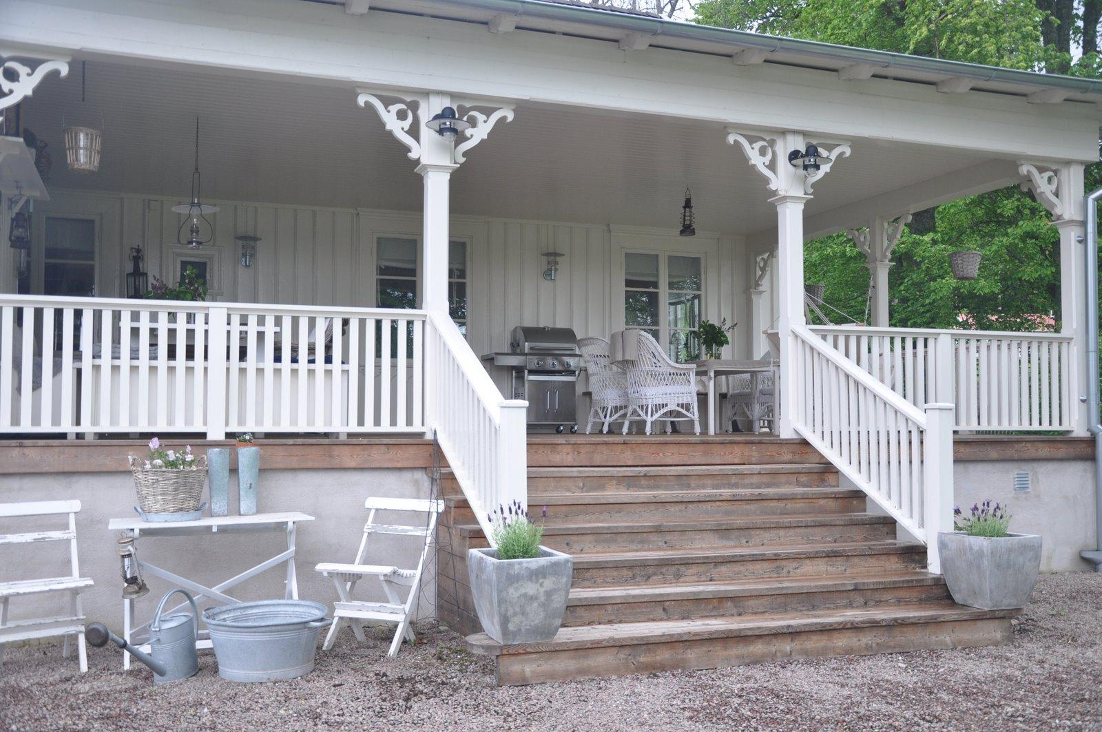 Vita verandan for Vita house