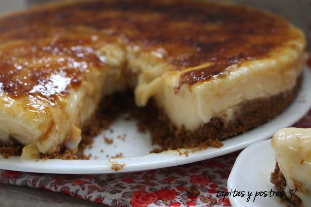 Tarta de crema catalana 2