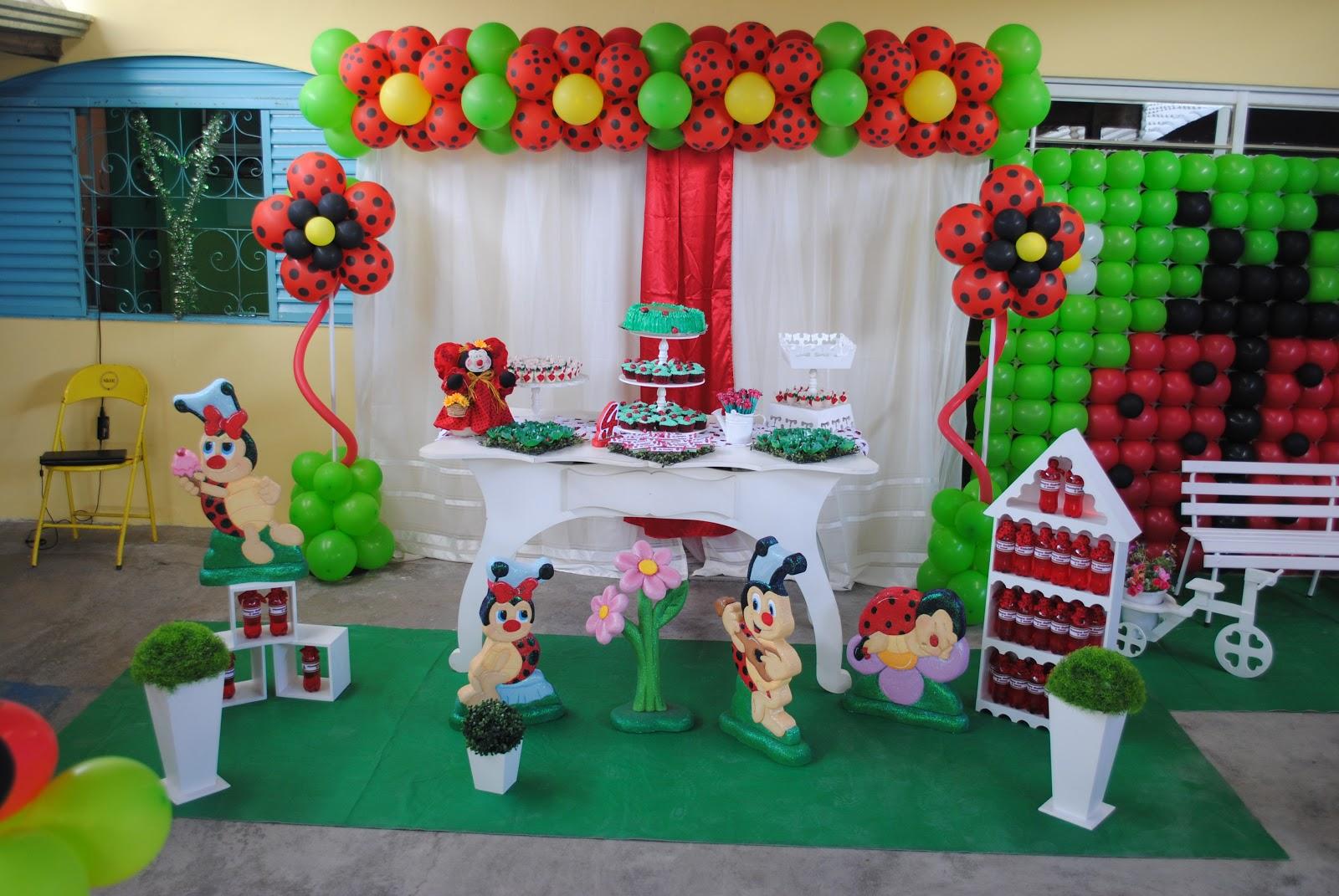 decoracao de festa infantil jardim das joaninhas:Festa Joaninha da Henayra ~ Lizuart Festas
