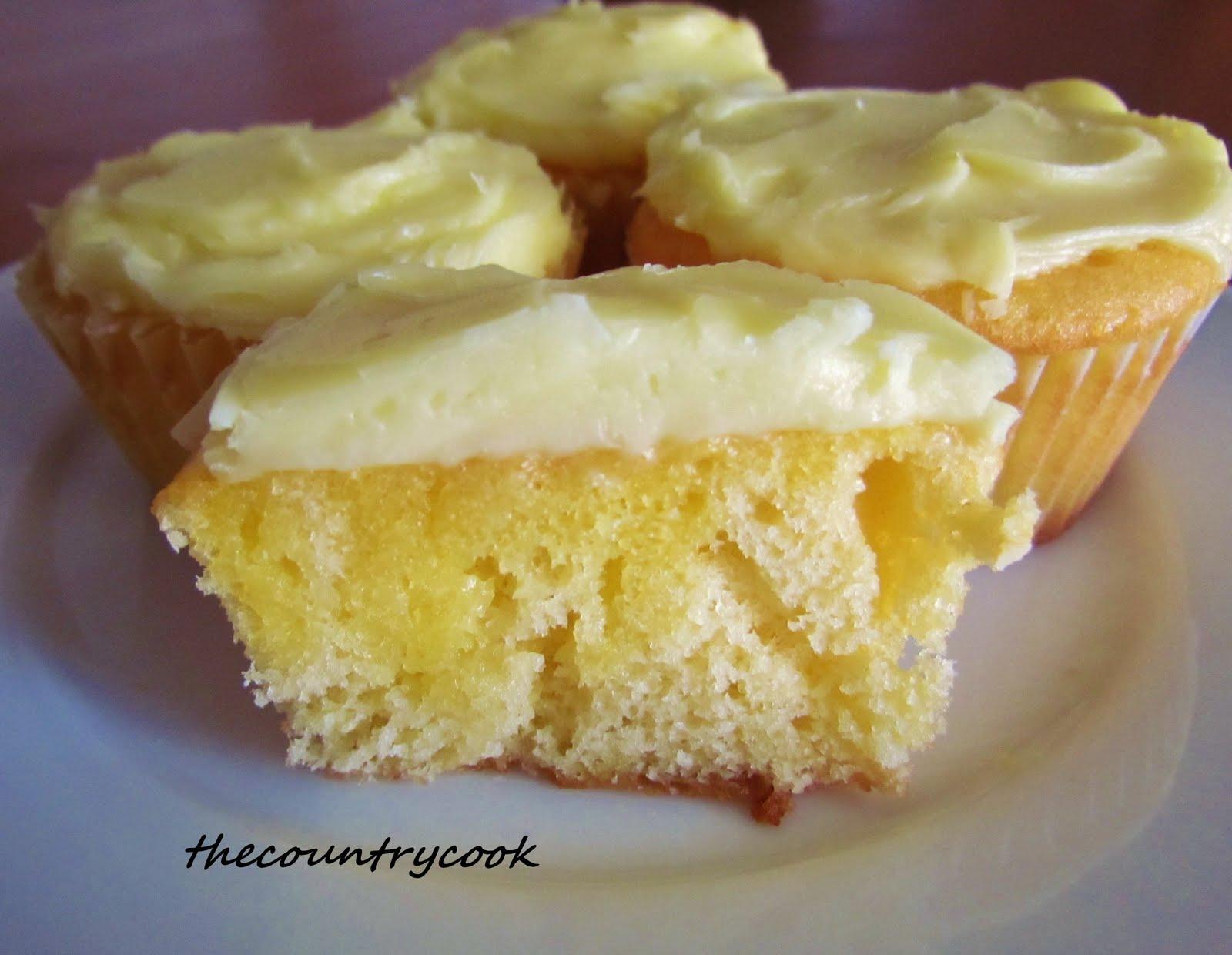Lemon Blueberry Cupcakes Using Box Cake Mix