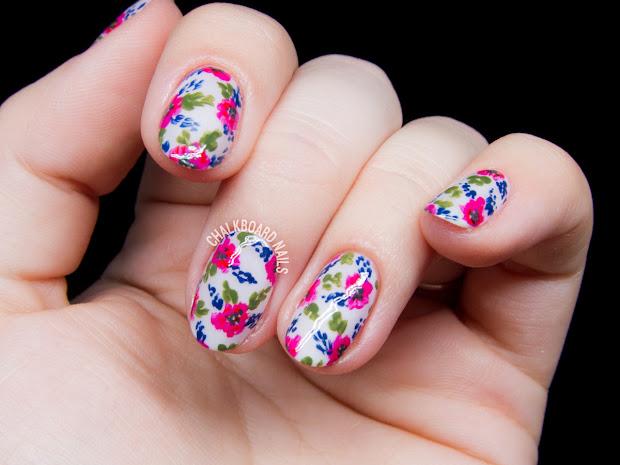simple vintage floral inspired