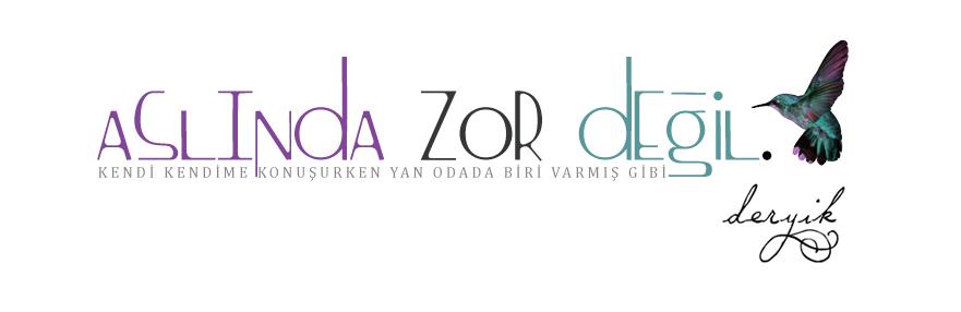 ASLINDA ZOR DEĞİL
