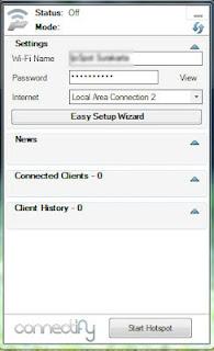 Cara Membuat Hotspot/Wifi Sendiri di Laptop