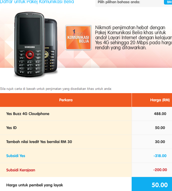 Yes Plan - http://www.yes.my/v3/personal/plans/prepaid/pakej