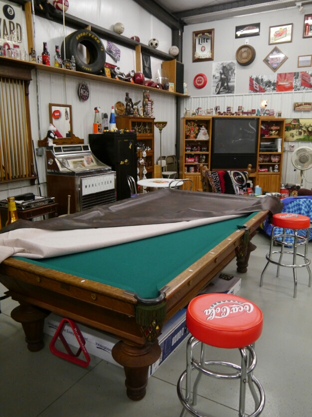 Dan's pool table