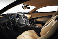 Jaguar C-X75 Hybrid supercar prototype interior