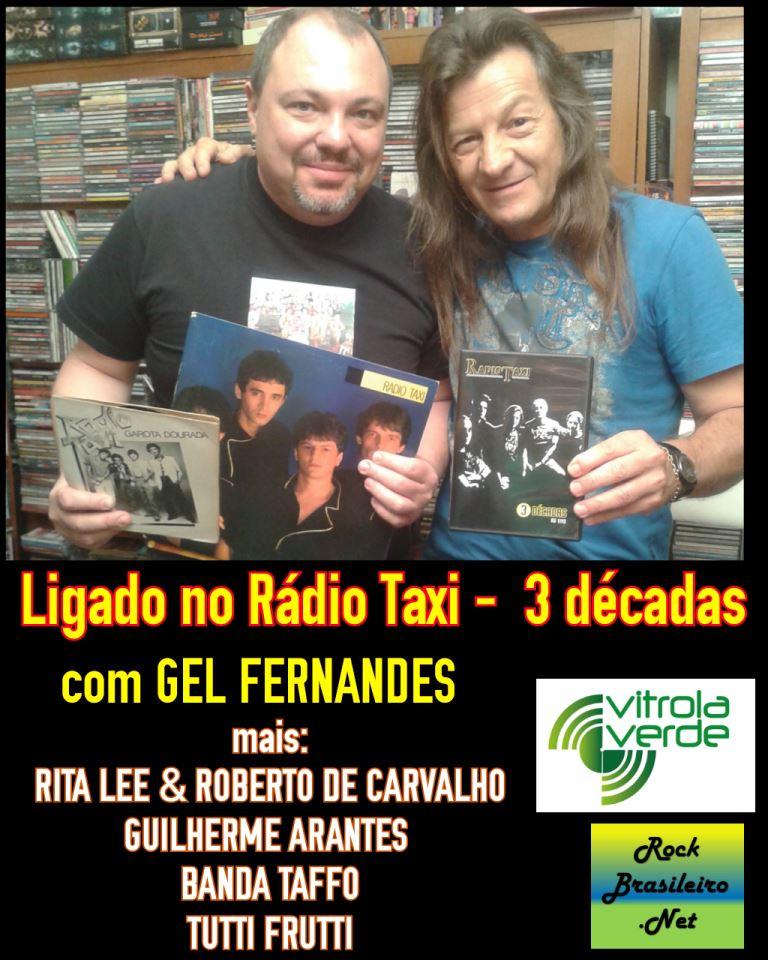 A história da banda Rádio Taxi em vídeo e fotos - Com Gel Fernandes