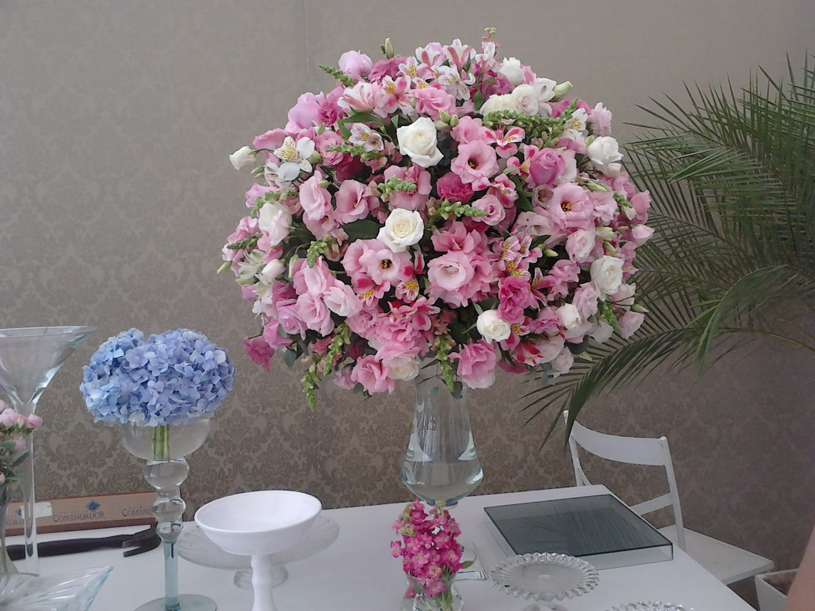 16 ideias de arranjos de mesa para casamento - Fotos De Arranjos De Flores Para Mesas
