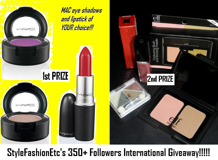 Megalivingg 350 Followers International Giveaway At Style Fashion Etc