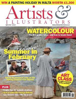 Artists and Illustrators Magazine April 2013