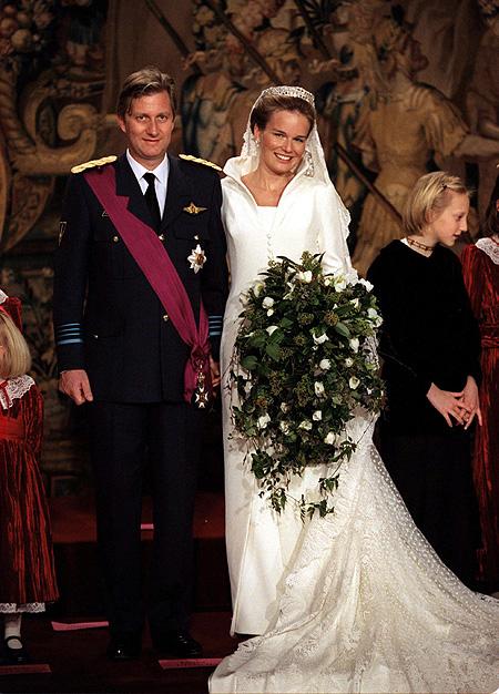 Wedding Dresses  Belgium : Royal couture princess mathilde future queen consort