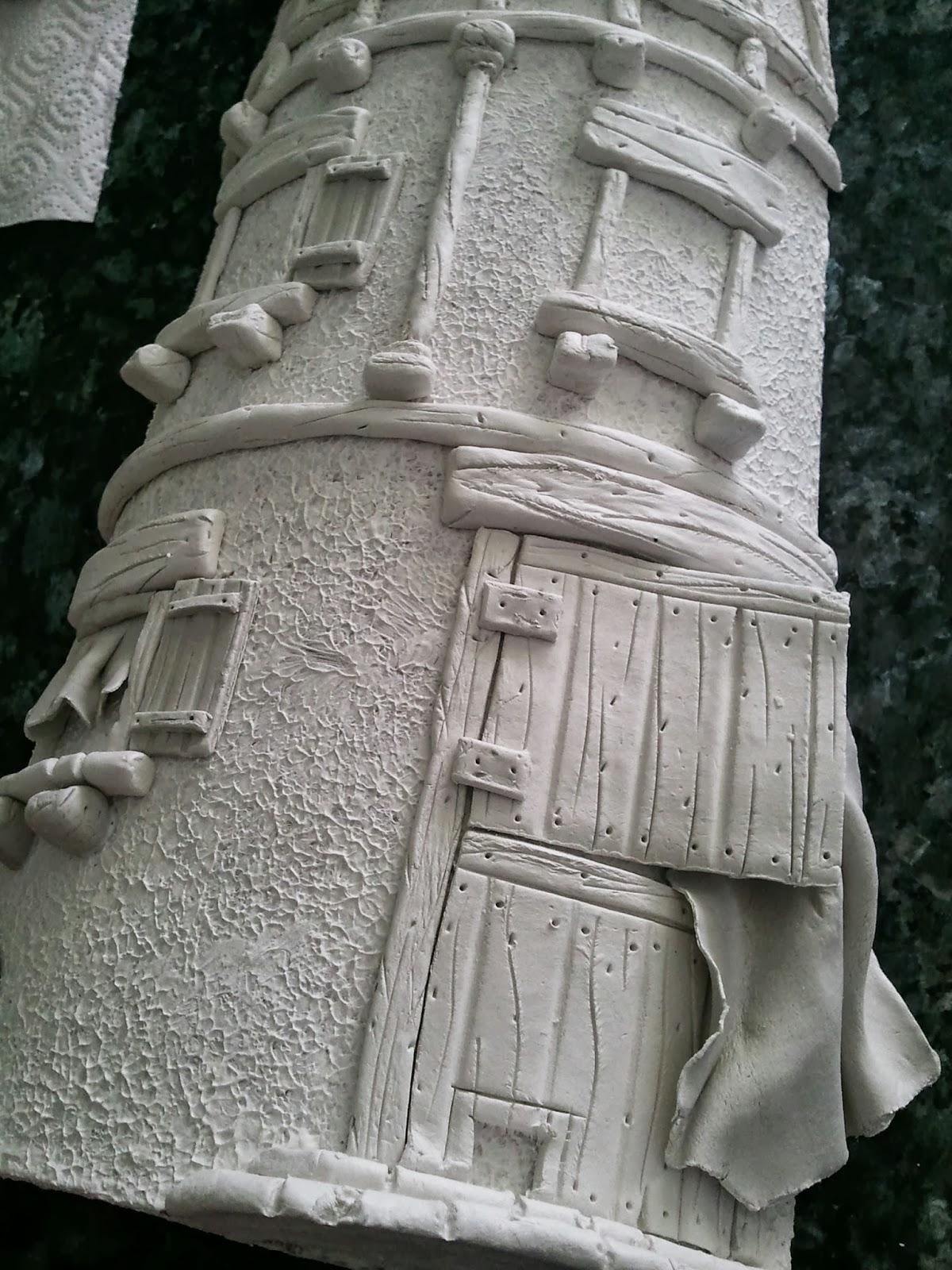 Las manualidades de kutxifritina 2 tutorial teja rustica for Puertas de tejas decoradas