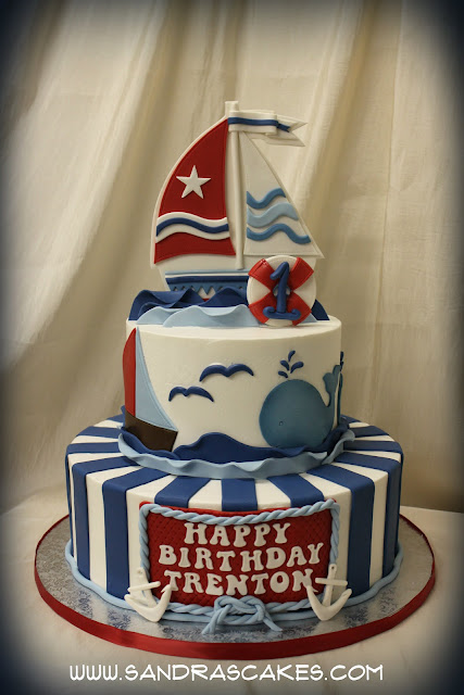 anchor birthday cakes