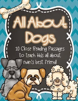 http://www.teacherspayteachers.com/Product/Close-Reading-Passages-All-About-Dogs-1264016