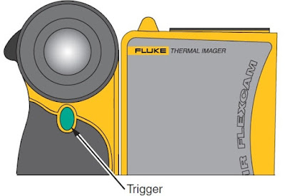 Press trigger button for capturing an image