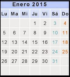 ¡¡Bienvenido 2015!!