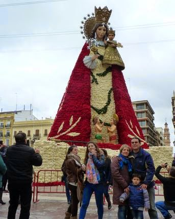 """La Virgen de los Desamparados o """"La Geperudeta""""."""