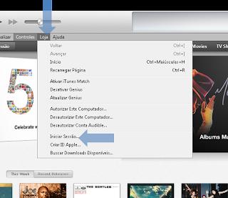 Como utilizar duas contas iTunes Store